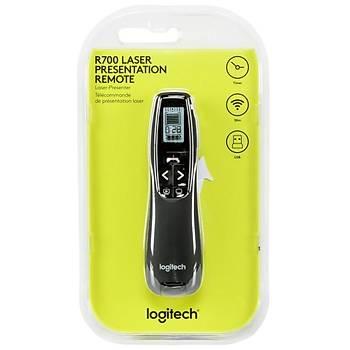 Logitech® R700 Profesyonel Sunum Kumandasý 30 mt Kumanda Mesafesi