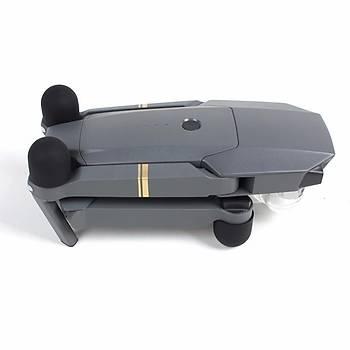 Mavic Pro Silikon Motor Kapaðý Koruyucusu Siyah Renk