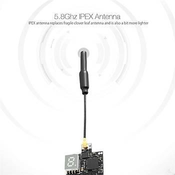 Süper Mini 5.8G 72CH FPV Verici 25mW-50mW-200mW Deðiþtirilebilir