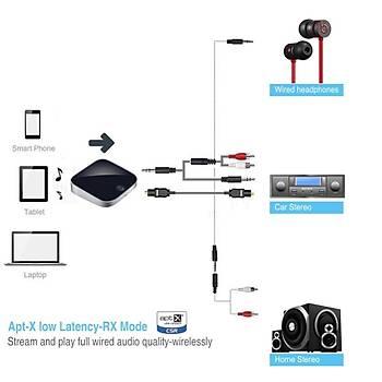 APTX LL CSR TOSLINK SPDIF Bluetooth 4.1 Verici Alýcý Stereo Ses Adaptörü