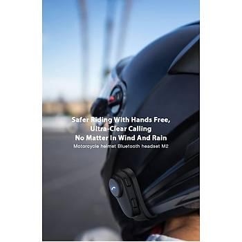 Bluetooth Motosiklet Kask Kulaklýk Anti-Parazit Eller Serbest Yaðmur Geçirmez