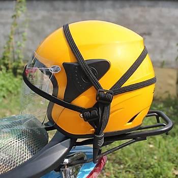 Motorsiklet Pratik Bagaj Kask-Paket Tutucu Kemer