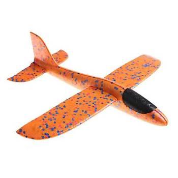 Planör Uçak 35cm EPP Silikonlu Köpük Elden Fýrlatma Yellow Dot