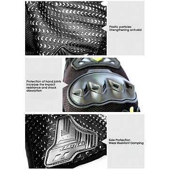 Pro Motor Eldiven 3D Korumalý Kaydýrmaz