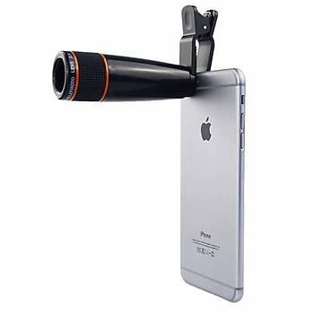 12 X zoom Telefon Monte Aparatlý Foto Telelelens