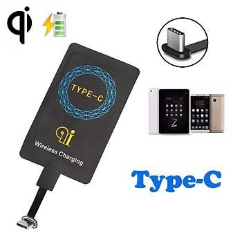 Type-C Telefonlar için Harici Qi Þarj Pad Bobini 1A