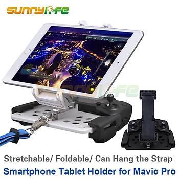 DJI Mavic 2 Pro Kumanda Tablet ve Telefon Tutucu Iphone 8/7/7+/6/6+/iPad
