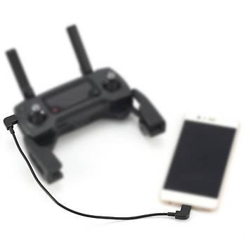 DJI  Mavic 2 Zoom 3 x Kumanda dan Telefona Veri Kablosu IOS/Micro/Tip-C