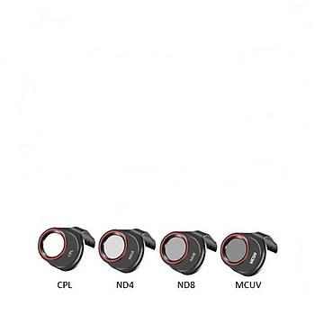 Dji Xiao Spark Gimbal Kamera Optik Lens Ýçin MCUV / CPL / ND4 / ND8 4 lü Filtre Set