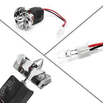 Rüzgar Türbini Jeneratörü Alternatör 2 V-22 V 3000 rpm Mikro Motor