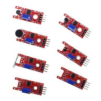 Arduino 45 Parça Sensör Modül Baþlangýç Kiti Uno R3 Mega2560 Pi