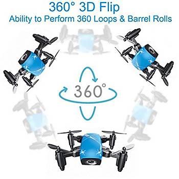 S9 Mini Drone Katlanabilir Avuç Boyutu