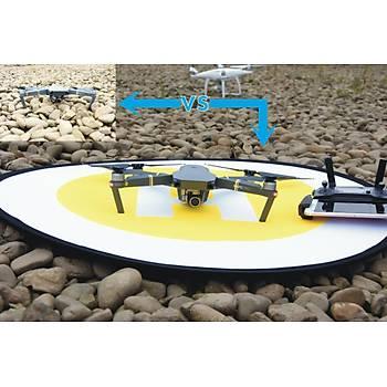 DJI Mavic 2 Pro 80 cm Evrensel Dron Ýniþ Pad Katlanabilir Park Önlük