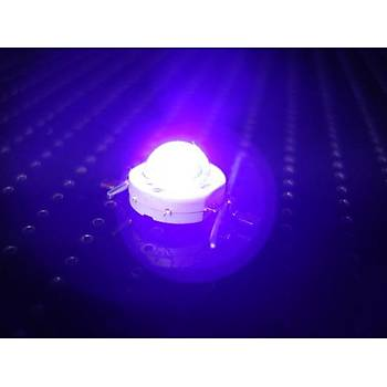 UV 5W High Power Chip UV Mor LED 395-400nm Iþýk