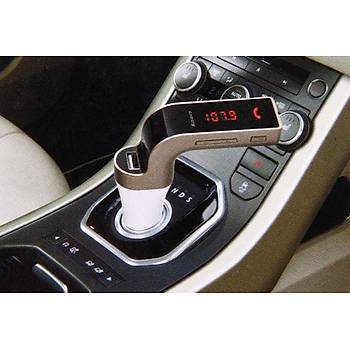 CARG7 FM Transmitter USB MP3 Player Handsfree Car Kit