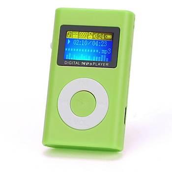 MP3 Player LCD Ekran 32GB Micro SD TF Card USB