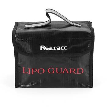 Yanmaz LiPo Pil Güvenlik Çanta Realac 215x155x115mm RC Piller Ýçin