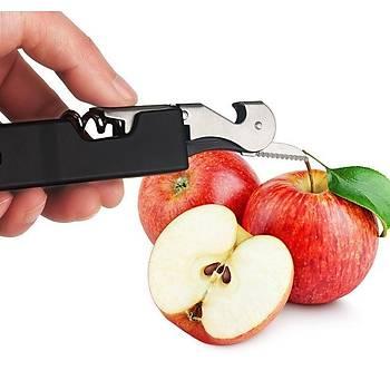 Sürgülü Ark Plazma Elektronik 4 in 1 Çakmak USB Þarjlý Mutfak Tekne Kamp