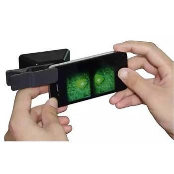3D miini lens 3D filmini çek VR gözlükte seyret.
