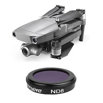 DJI Mavic 2 Zoom Kamera Lens Filtresi Nötr Yoðunluk ND8