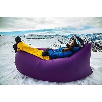 Hangout Laybag Sofa Hava ile dolan þiþme yatak