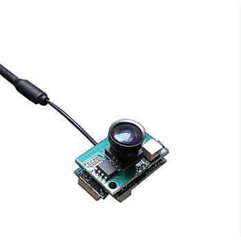 1200TVL 120° 5.8G 48CH 25-200mw Ayarlý AIO Mini FPV Dron Kamera
