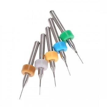 Mikro Karbür PCB Matkap Ucu Metal CNC Sondaj 10lu Set 0.2-1.2mm