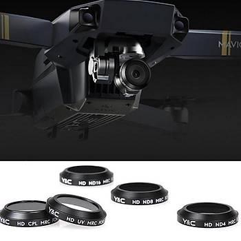 DJI Mavic Pro Kamera 5 li Lens Filtre Seti ND4-ND8-ND16-UV-CPL