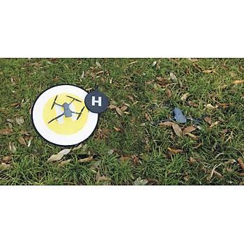 DJI Spark 80 cm Evrensel Dron Ýniþ Pad Katlanabilir Park Önlük