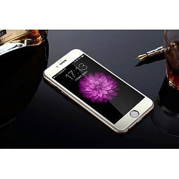 iPhone 6 6S Ýçin Ön/Arka Mirror Aynalý Ekran Koruyucu Tamperli Cam Gümüþ Renk