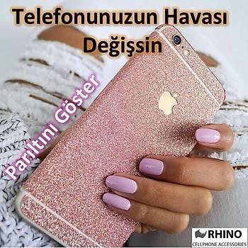 iPhone 6 Plus Parýltýlý Simli Sticker Kaplama