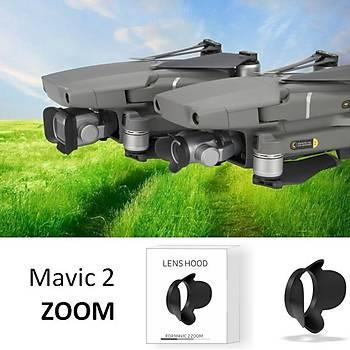 DJI Mavic 2 Zoom Lens Kapak Koruyucu Anti-Parlama Güneþ Gölgelik