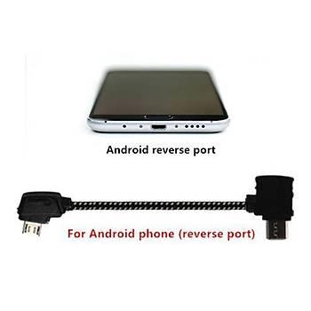 DJI Spark,Mavic Pro Kumanda Android Telefon USB Veri Kablosu TYPE B