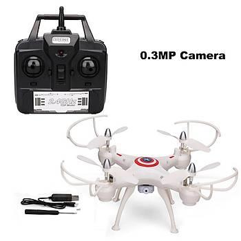 DWI 4D 2.4GHz 4CH WiFi 2MP Kameralý Dron Takla atan