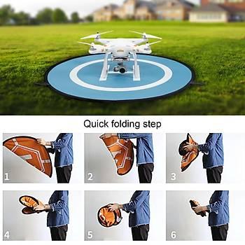 DJI Mavic Pro -  Spark Dron Güvenli ve Temiz Katlanabilir Ýniþ Ped 55cm