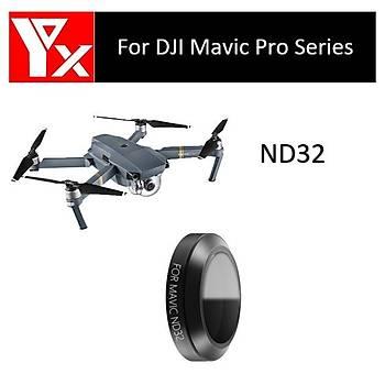 DJI Mavic Pro Platinum Gimbal Kamera Lensi Ýçin ND16 Nötr Yoðunluk YX