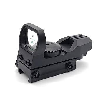 20mm Raylý Tüfek Optik Holografik Yeþil Artý Niþangah Cs Spor