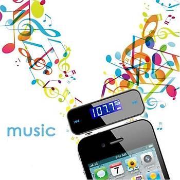 Araç Kiti LCD Araç Ýçi Handsfree Stereo Müzik Ses Radyo MP3 iPod PC FM Verici
