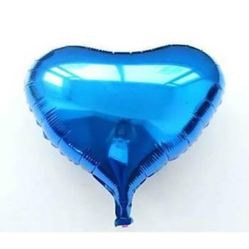 Folyo Balon 2x5 Renk Kalp 10'lu Parti Süsleme