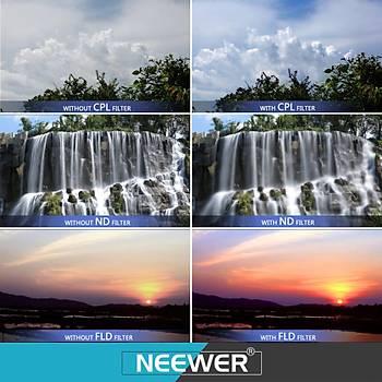 DJI Mavic Pro HD ND16PL Filtre Optik Lens Siyah Alüminyum