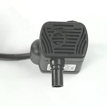 Dalgýç Su Pompasý Mini Akvaryum Çeþmesi Gölet 200LT/S AC 220V 3W