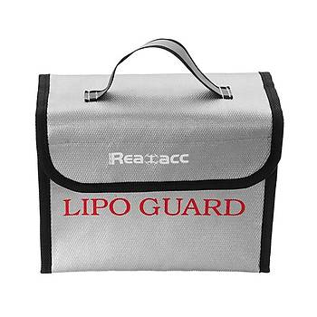 Yangýn Geçirmez LiPo Pil Portatif Güvenli Çanta 215x155x115mm Realacc