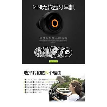 Bluetooth 4.1 Kulaklýk CVC 6.0 Mini Kablosuz Stealth