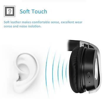 Kablosuz Bluetooth Kulaklýk Mikrofon Süper Bas Gürültü Engelleme MP3
