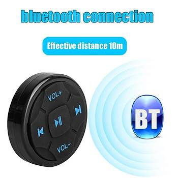Bluetooth Araç Direksiyon Android IOS Telefon Kontrolü Araç Kiti
