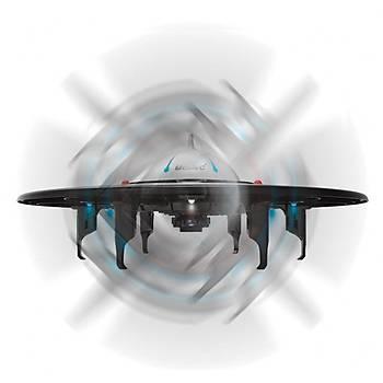 DRON UDÝ UFO GECE UÇUÞ LEDLERÝ 2.4 GHz 6 Eksen Gyro RC Quadcopter