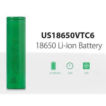 SONY VTC6 3120mAh 30A-60A 3.6V US18650 Li-ion Batarya