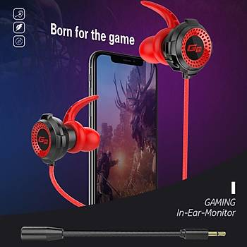 Ergonomik Gaming Kulaklýk Mikrofon 3.5mm L Fiþ Telefon PC Oyun