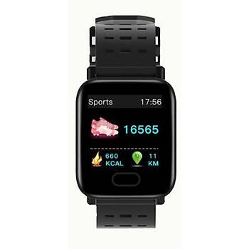 Akýllý Saat Spor Aktivite Bluetooth 4.0 1.3 inç IP67 Su Geçirmez