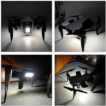 DJI Mavic Air 3 Mod LED Fener Gece Güvenli Uçuþ Montaj Seti